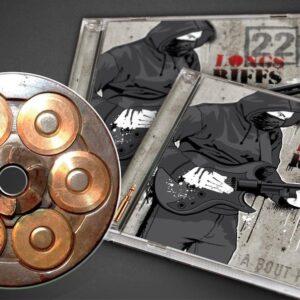 """CD 22 Longs Riffs """"A bout portant"""""""