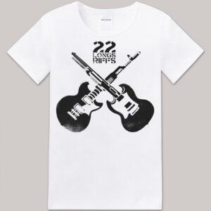 "Tshirt ""GuitGuns"" Homme/femme"